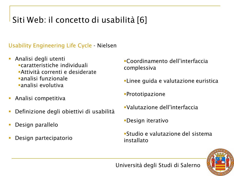 Siti Web: il concetto di usabilità [6]